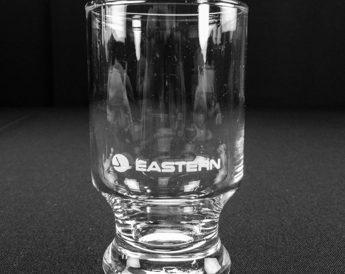 Vintage 1980s Eastern Airlines Juice Glass
