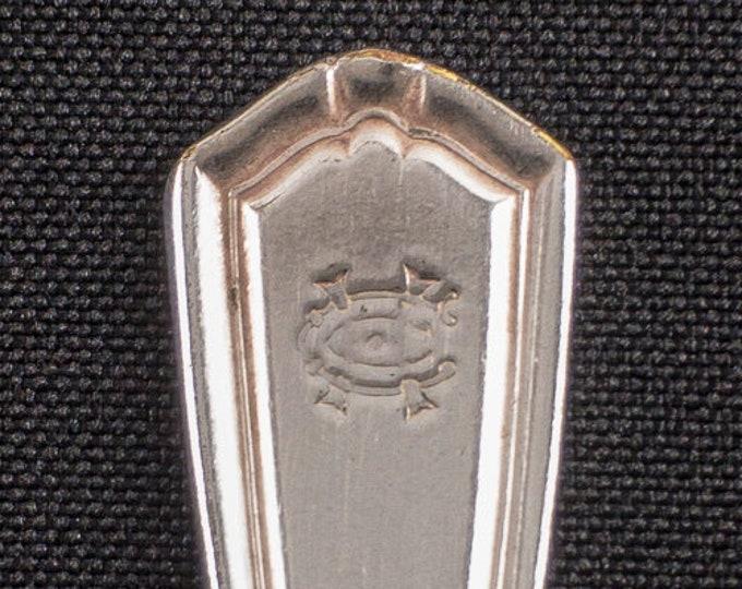 HTF Houston Country Club Texas Restaurant Ware Silverplate Coffee Tea Spoon by Oneida Circa Late 1950s