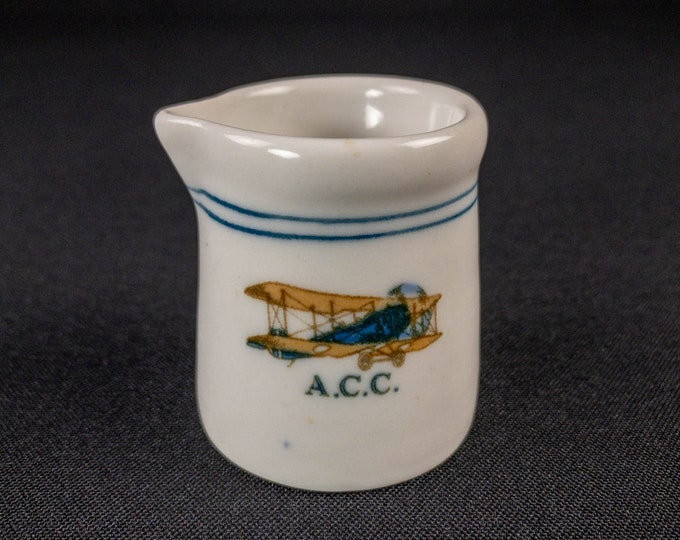 Aviation Country Club Detroit Michigan Handleless Creamer