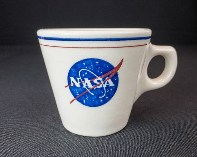 1963 NASA Cafeteria Coffee Cup Mug By Walker China: Drink Coffee Like You're A Rocket Scientist!