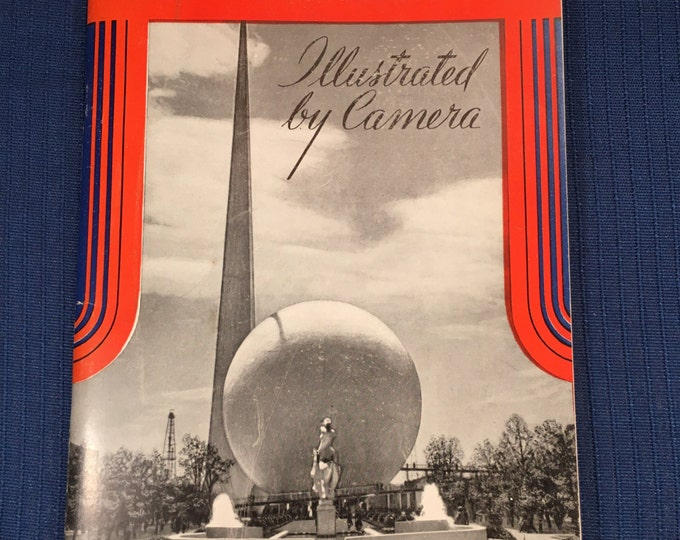 "1939 Booklet titled ""New York World's Fair"" Illustrated by Camera"