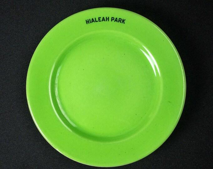 Vintage 1930s Hialeah Park Miami FL Restaurant Ware Side Plate OPCo Syracuse