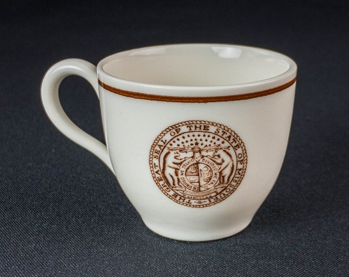 State of Missouri Demitasse Cup By Walker China