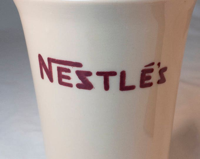 Uncommon 1950s Nestle's Hot Cocoa Mug by Sterling China