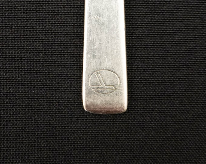 Eastern Airlines 3 Piece Silverplate Cutlery Utensil Set from the 1960s By Reed & Barton
