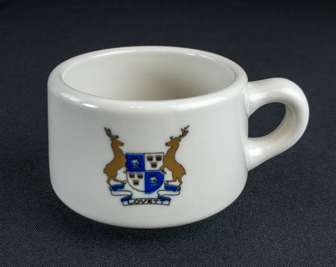 1970s Lovett Residential College at Rice University Houston Texas Cup Restaurant Ware By Syracuse China