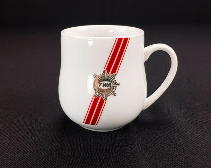 TWA Trans World Airlines Demitasse Restaurant Ware Coffee Cup 44-1695 by Abco International