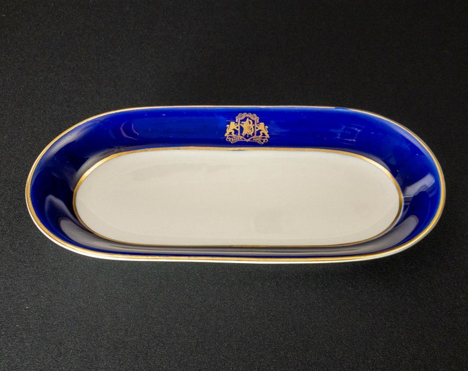 Baker Hotel 9-3/4 inch Oblong Celery Dish Restaurant Ware By OPCo Syracuse