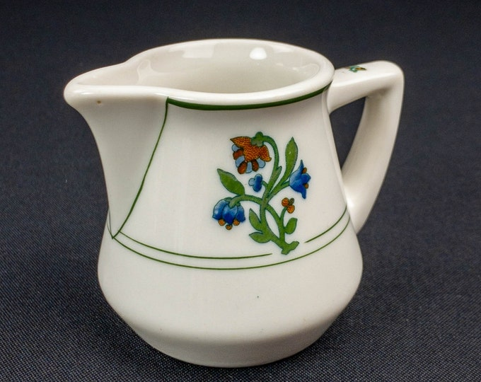 1950s St Alban's Pattern Restaurant Ware Creamer By Syracuse China