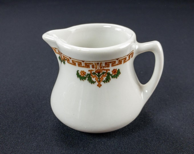 Vintage 1966 Restaurant Ware Creamer Rice Pattern by Sterling China