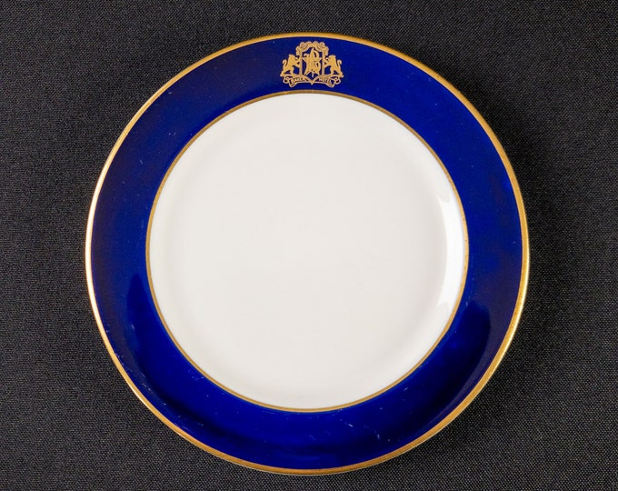 """Baker Hotel 5-1/2"""" Roll or Small Side Plate Restaurant Ware By OPCo Syracuse China 1930s-40s"""