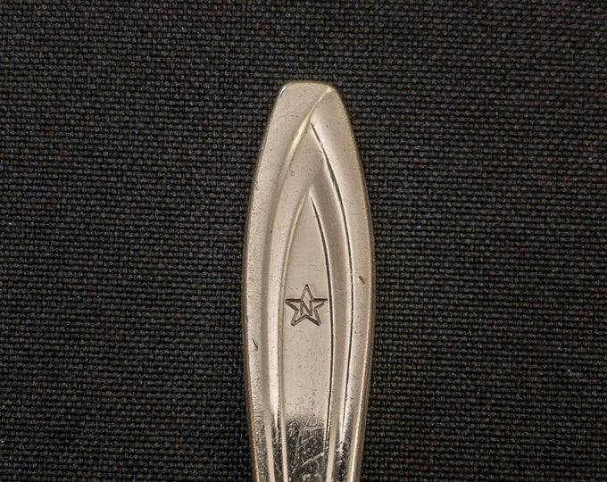 National Airlines 3 Piece Silver Plate Cutlery Set Knife Fork And Spoon By International Silver Circa 1950s