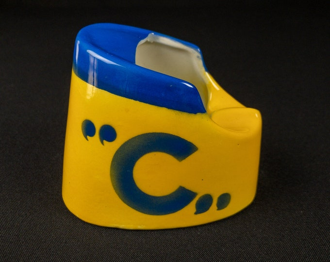 Costa Line Funnell Ashtray With Linea C Logo