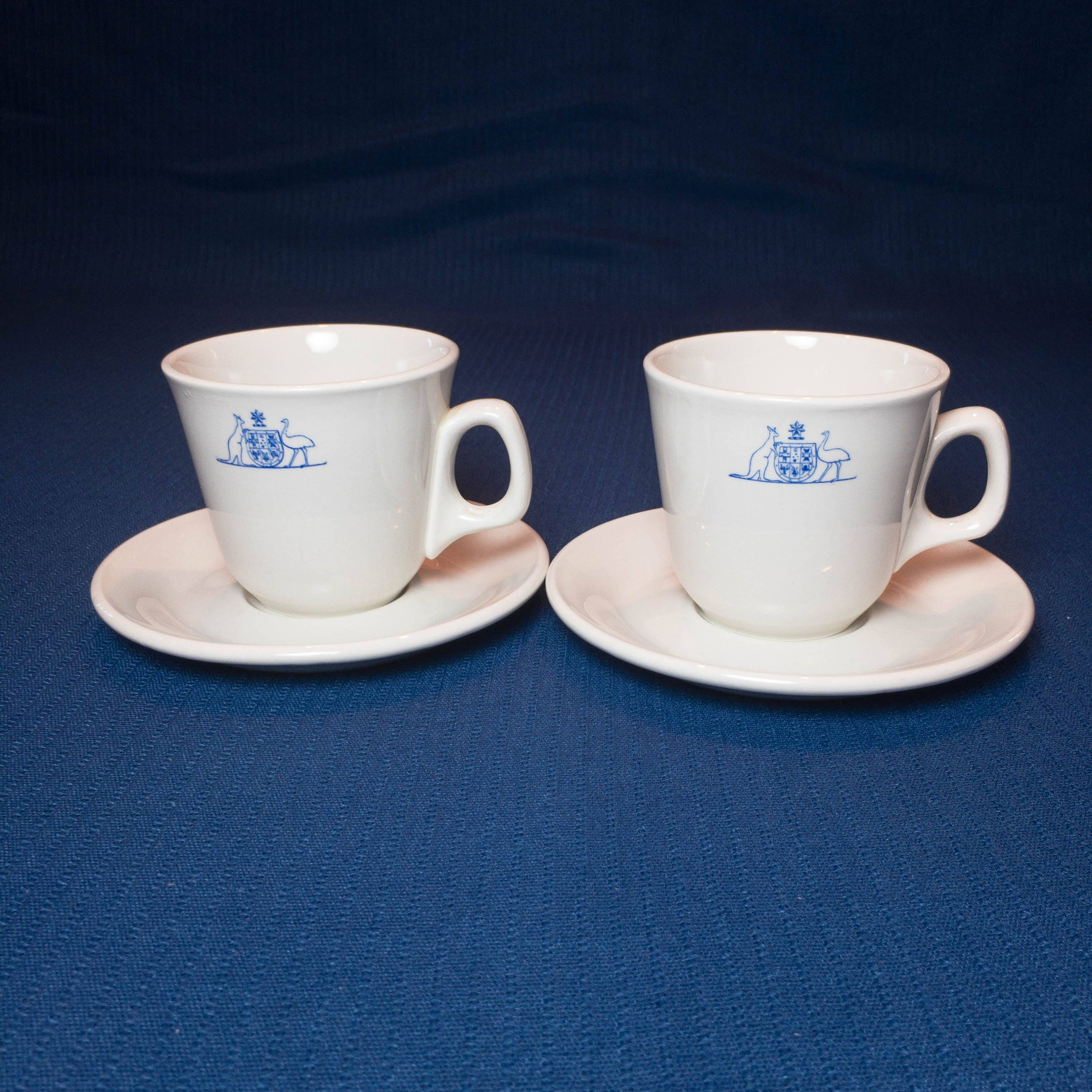 Commonwealth Coat of Arms Australia Coffee Cup and Saucer ...