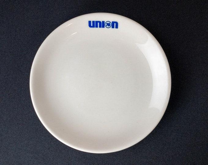 "Union 76 Oil Company 6-3/8"" Side Plate Restaurant Ware By Syracuse China Petroliana"