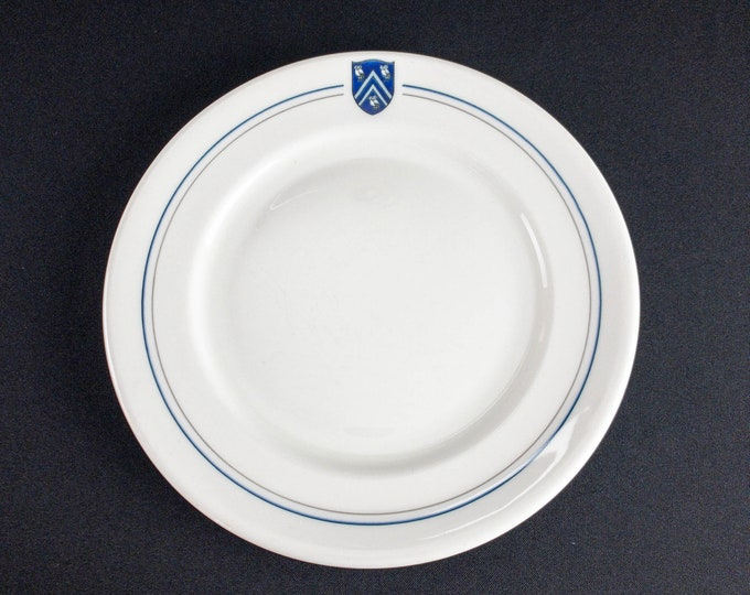Rice University Institute Houston Texas 9-3/4 Inch Dinner Plate Restaurant Ware By Shenango China