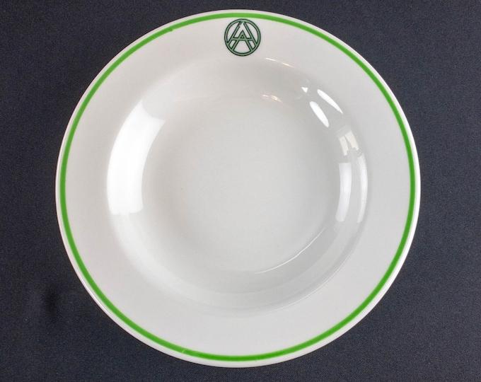 Arabian American Oil Company ARAMCO 9 Inch Soup Plate By Shenango China
