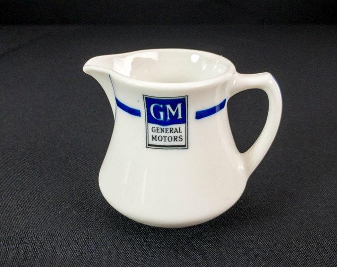 "1938-1964 GM General Motors 3"" Tall Creamer Restaurant  Ware By Syracuse China"