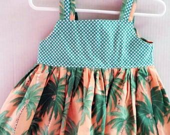 Toddler Tropical Sundress