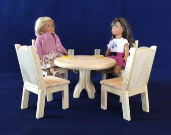 Doll Dining Table Etsy