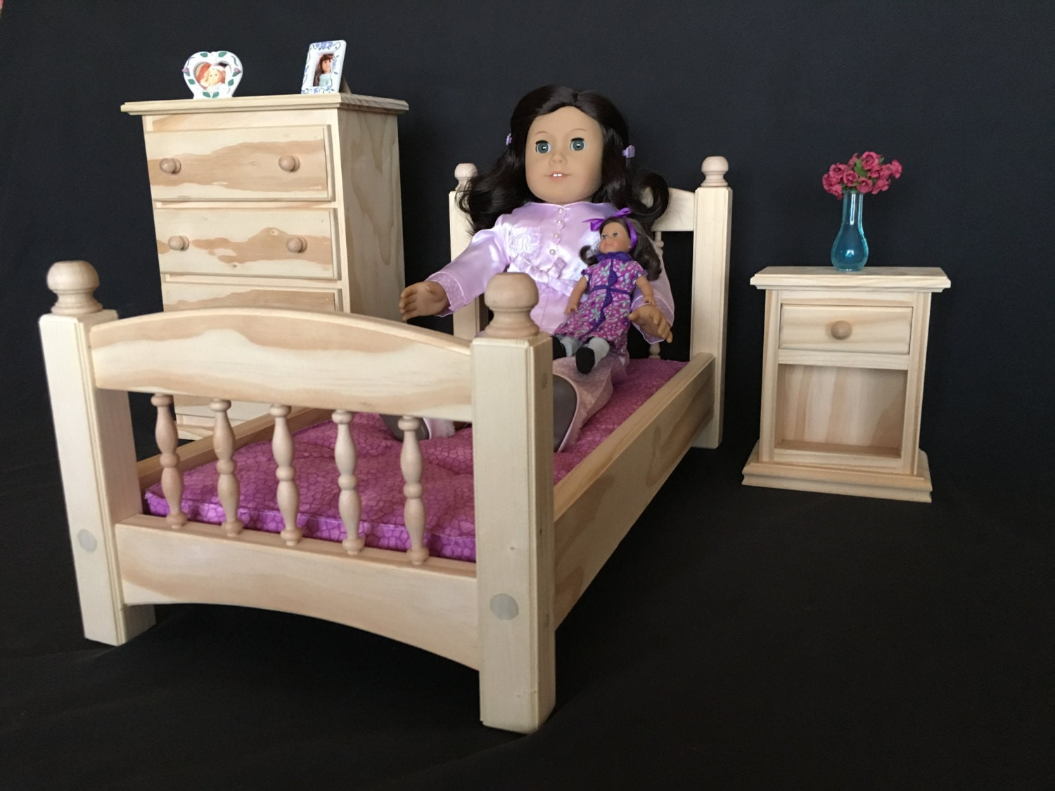 bedroom set for american girl and all other 18 dolls