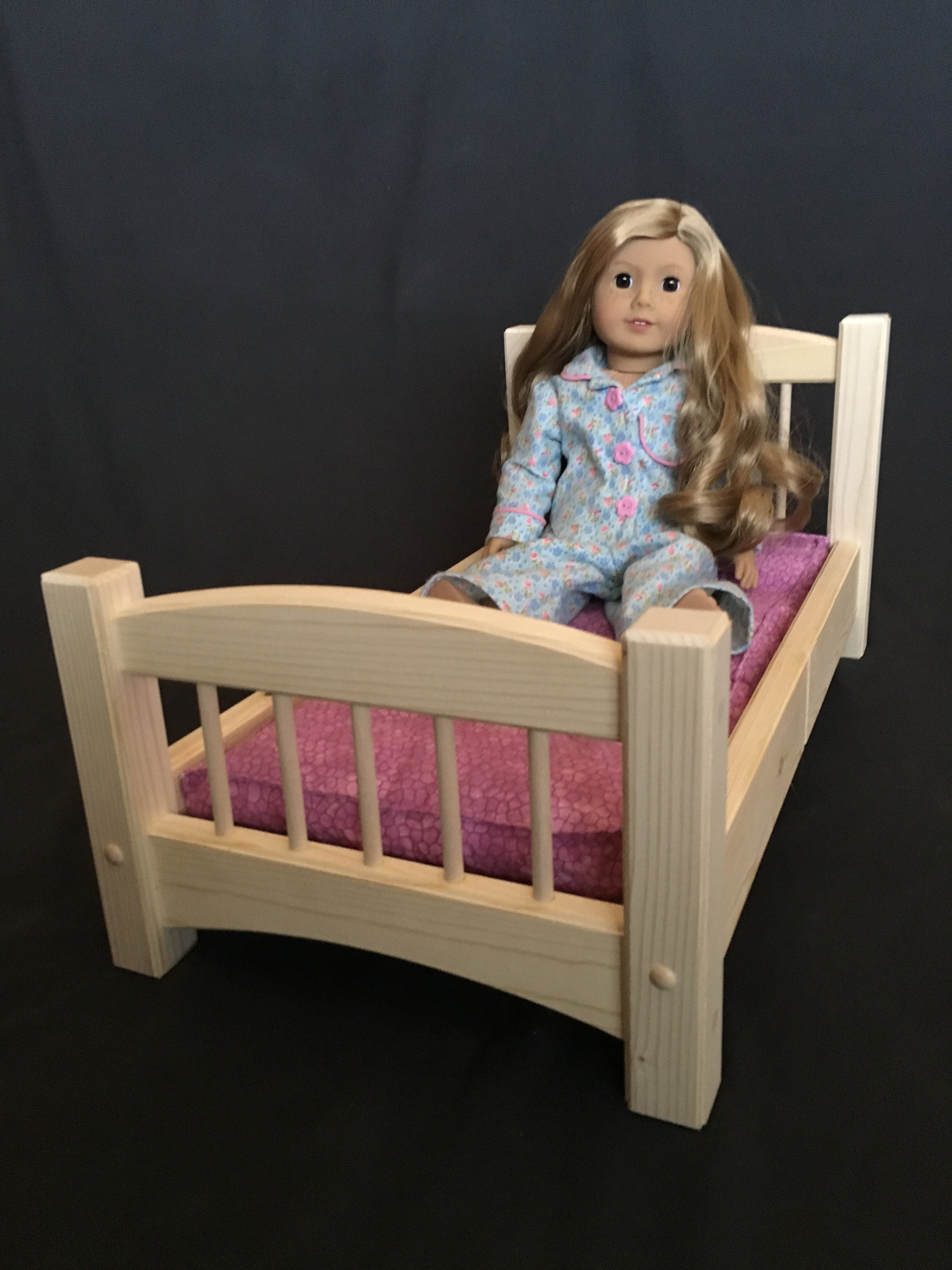 Standard Bed For American Girl Amp All Other 18 Dolls