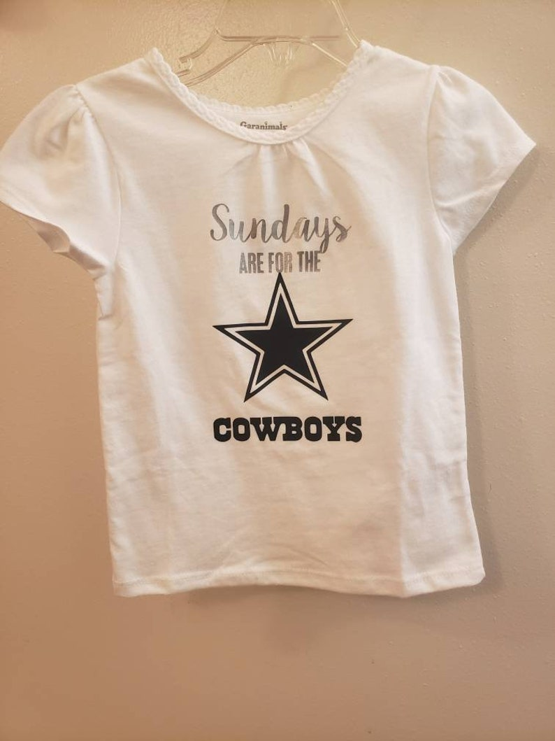 detailed look 5af9c 54456 SALE Girls Dallas Cowboys Shirt