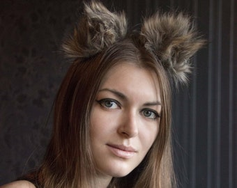 more colors wolf fur mini ears