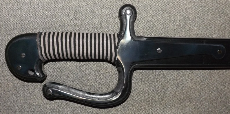 Asian plastic training sabre sword for HEMA and other fencing