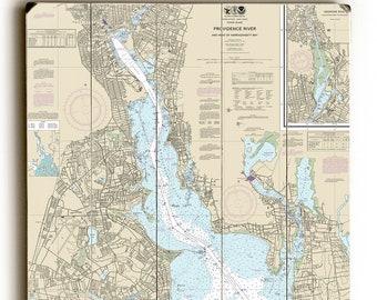 Providence ri map | Etsy