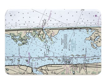 Map Of Sebastian Florida.Sebastian Fl Map Etsy