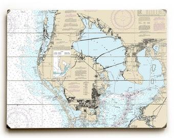 St Pete Florida Map.St Petersburg Fl Etsy