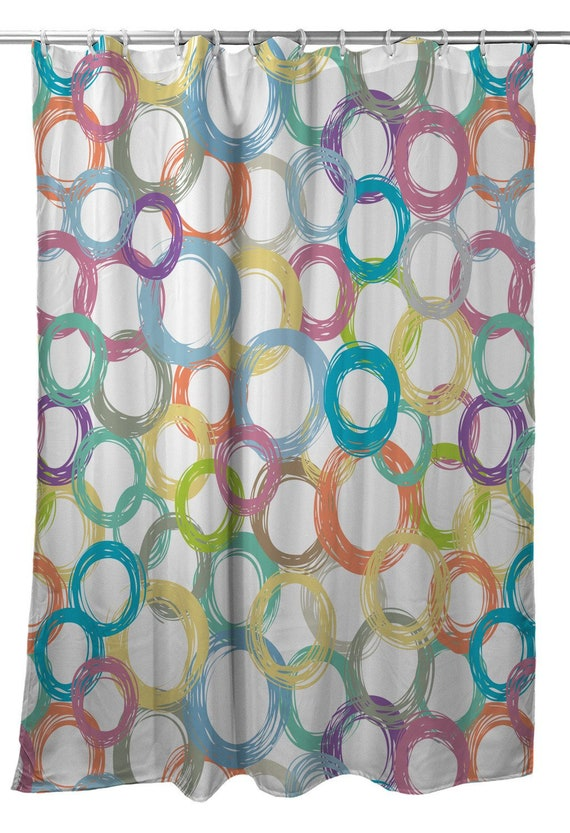 Coiled Shower Curtain Coastal Modern