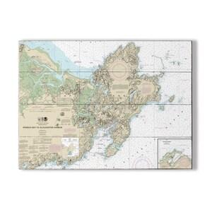 Wa Bremerton Bainbridge Island Seattle Wa Nautical Chart Etsy