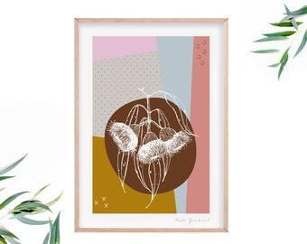 Colourful Australian Eucalyptus Art Print