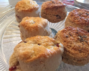 Pack of 6 Cranberry Scones