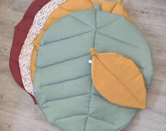 Great leaf awakening carpet decorating baby room