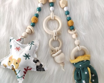 Suspensions for arch/ Montessori awakening gantry Jungle theme