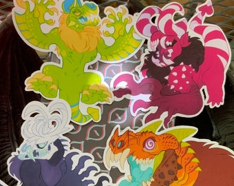 Candy Ghouls - Sticker Pack