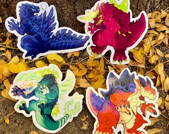 Killer Kaiju - Stickers