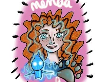 Merida Digital Illustration