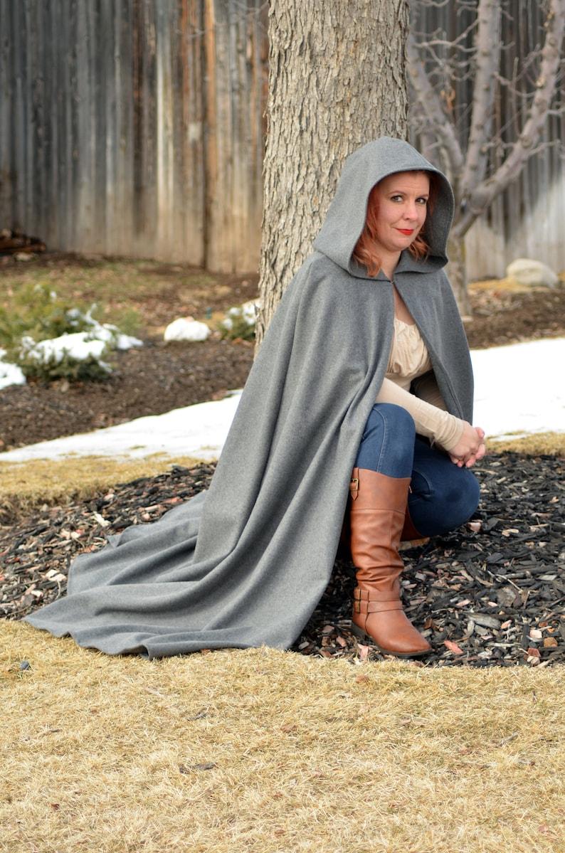 Melton Wool Cloak / Water resistant cloak / Everyday cloak / image 0