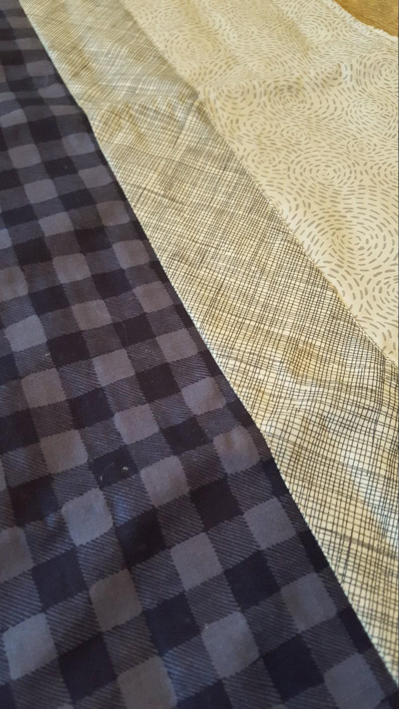 set of 2 Woodland Baby Burp Cloths