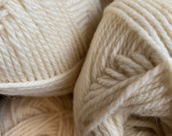 Ryeland wool - Aran weight - 100g