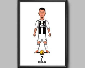 Cristiano Ronaldo Etsy