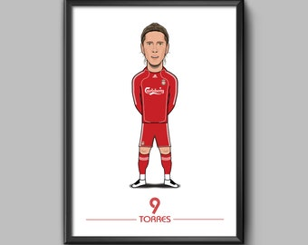 Fernando Torres Chelsea Football Soccer Signed Autographed A4 Photo Print Poster