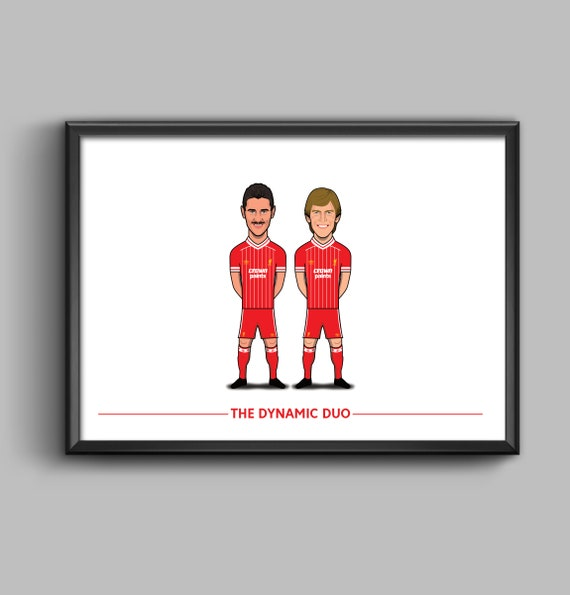 The Dynamic Duo (Ian Rush and Kenny Dalglish)