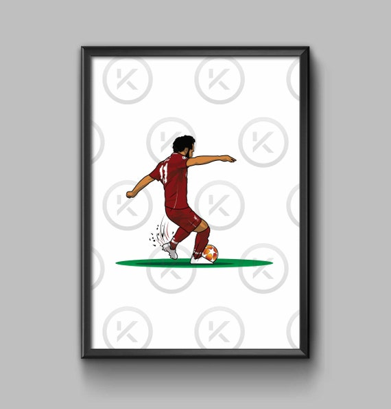 On the Pitch  - Mo Salah Pen
