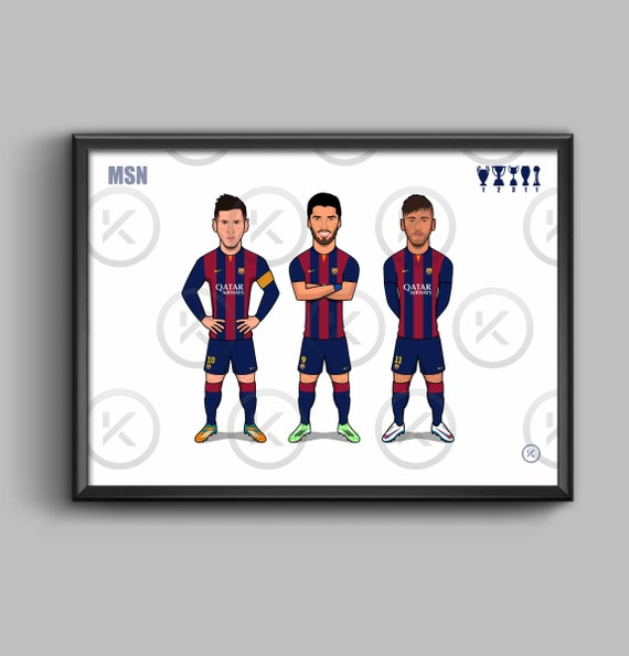 "Barca ""MSN"" (Messi, Suarez, Neymar)"