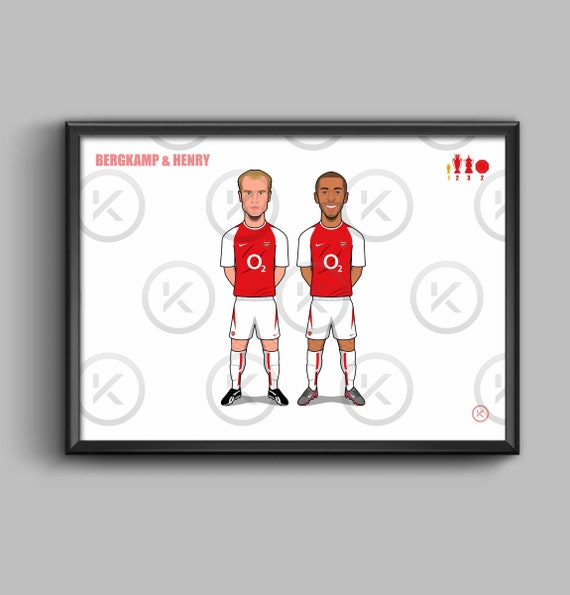Arsenal Legends (Bergkamp & Henry)